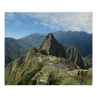 Peru, Machu Picchu, the ancient lost city of 3 Poster