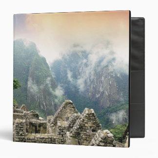 Peru, Machu Picchu, the ancient lost city of 3 Ring Binder
