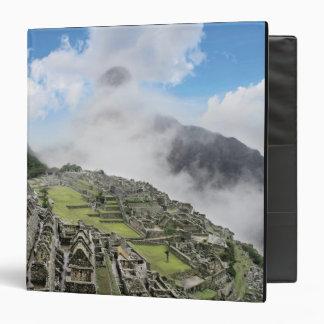 Peru, Machu Picchu, the ancient lost city of 4 3 Ring Binder