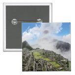 Peru, Machu Picchu, the ancient lost city of 4 Pinback Button