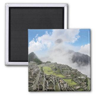 Peru, Machu Picchu, the ancient lost city of 4 Magnet