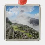 Peru, Machu Picchu, the ancient lost city of 4 Christmas Tree Ornament
