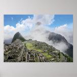 Peru, Machu Picchu, the ancient lost city of 4 Print