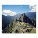 Peru, Machu Picchu, the ancient lost city of Photo Print