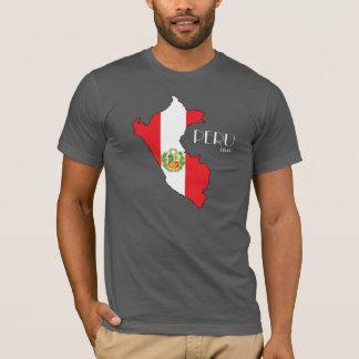 Peru Map Flag Shirt