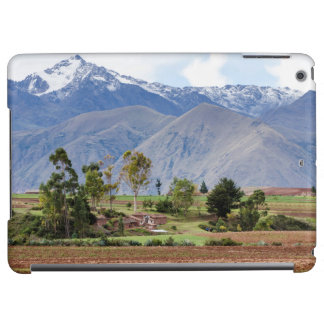 Peru, Maras. Landscape Above The Sacred Valley iPad Air Cases