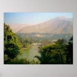 Peru Mountains Poster
