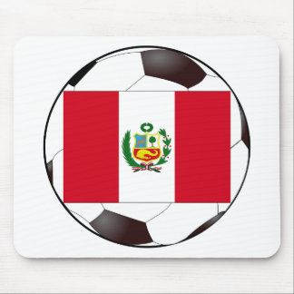 Peru National Flag Mouse Pad