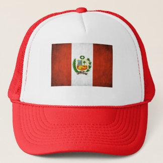 Peru National Flag Trucker Hat
