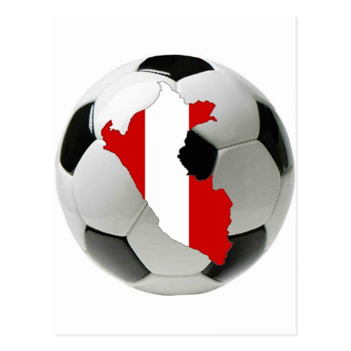 Peru national team post card