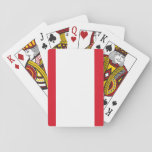 Peru National World Flag Playing Cards