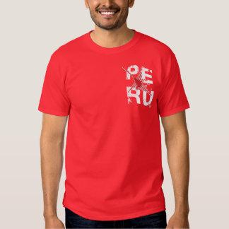 Peru Nazca - Map Departments / InKa1821 Label T-Shirt