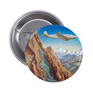 Peru of The Incas Button