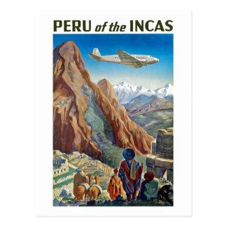 Peru of The Incas Postcard
