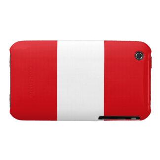 Peru – Peruvian Flag iPhone 3 Case-Mate Case