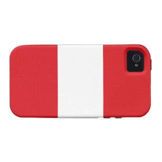Peru – Peruvian Flag Case-Mate iPhone 4 Cover