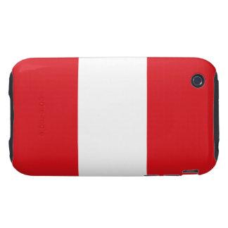 Peru – Peruvian Flag iPhone 3 Tough Covers
