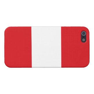 Peru – Peruvian Flag Cover For iPhone 5