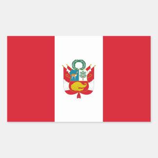 Peru/Peruvian War Flag Stickers