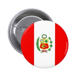 Peru Pinback Buttons