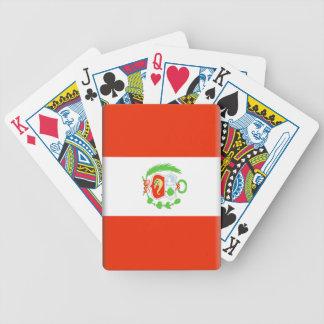 Peru Bicycle Poker Cards