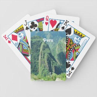 Peru Bicycle Playing Cards