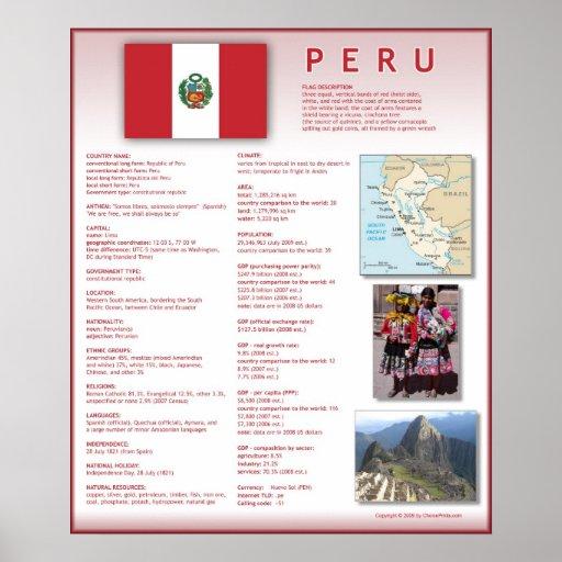 Peru Print