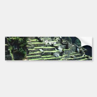 Peru Ruins Bumper Stickers