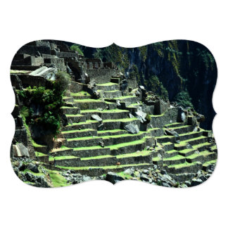 Peru Ruins Custom Invitation