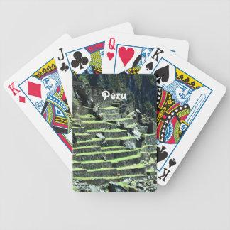 Peru Ruins Bicycle Poker Cards