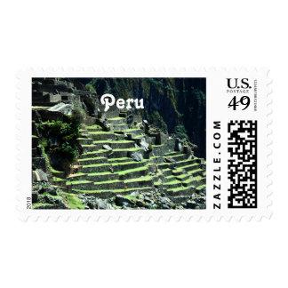 Peru Ruins Stamps