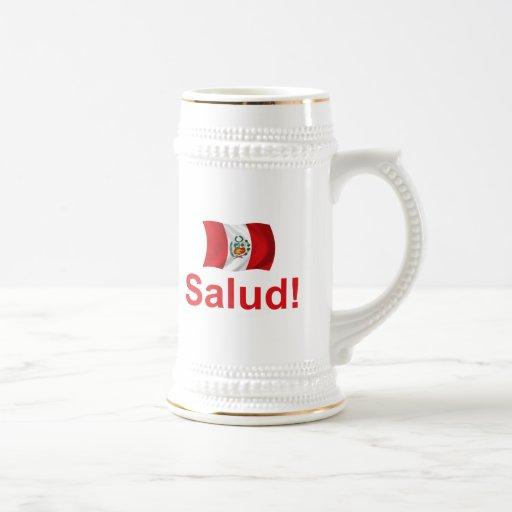 ¡Perú Salud! Tazas De Café