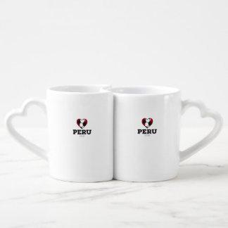 Peru Soccer Shirt 2016 Couples Coffee Mug