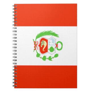 Peru Spiral Notebook