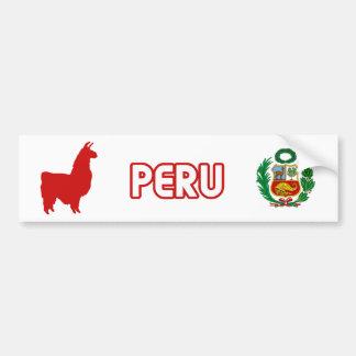 Peru Stiker Car Bumper Sticker