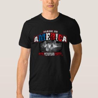Peru T-Shirt Made in America