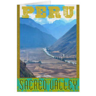 Peru: The Sacred Valley of the Incans Notecard