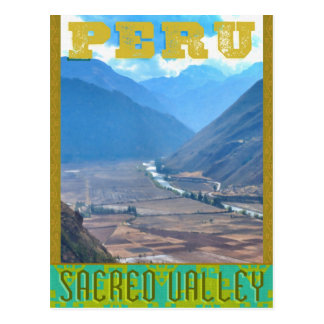 Peru: The Sacred Valley of the Incans - Postcard