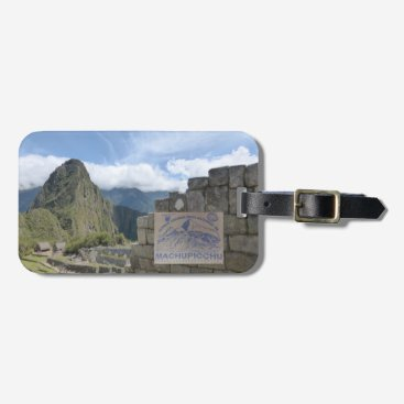 Peru Travel Destination Luggage Tag
