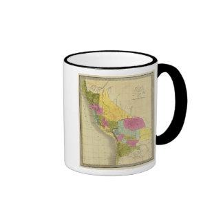 Perú y Bolivia 2 Taza A Dos Colores