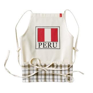 Peru Zazzle HEART Apron