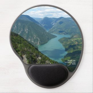 Perucac lake, Tara National Park, Serbia Gel Mouse Pad