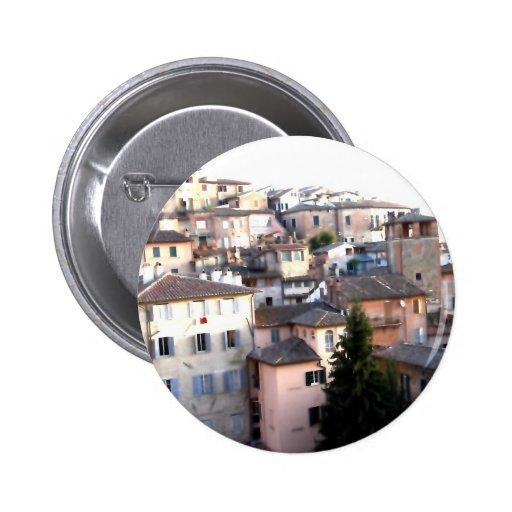 Perugia, Italy Button