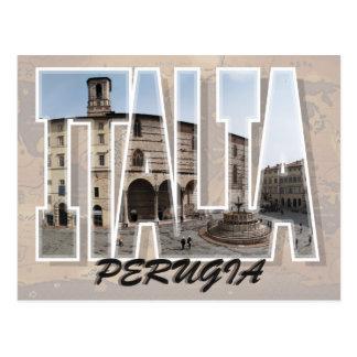 Perugia, Italy Postcard