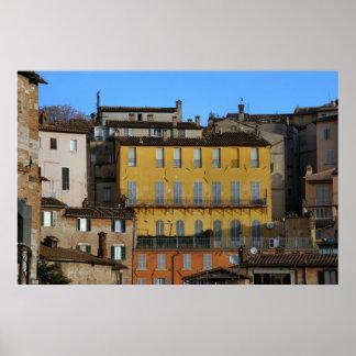 Perugia, Italy Poster