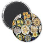 Perugia Pottery Fridge Magnets