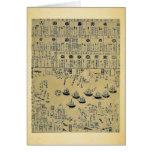 Peruri to yu mono Soshu Uraga ni torai Greeting Card
