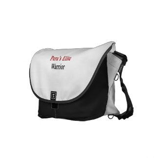 Peru's Elite Warrior Courier Bag