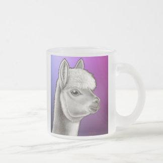 Peruvian Alpaca Frosted Glass Mug