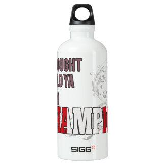 Peruvian and a Champion Water Bottle
